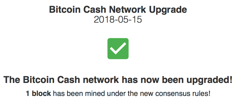 Bitcoin Cash Upgrade Milestone Complete: 32MB and New Features